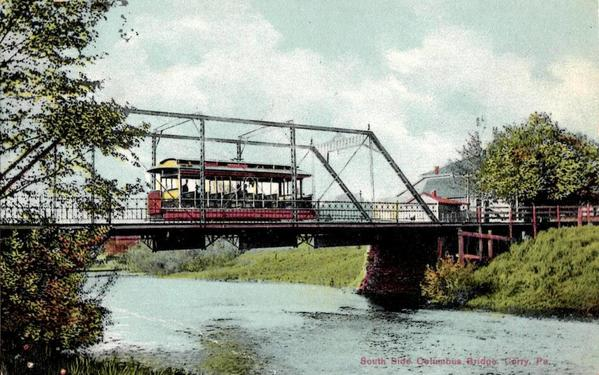 brokenstraw bridge trolley