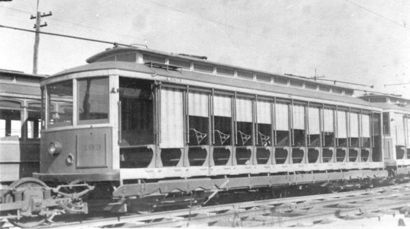 Conestoga Transportation Co. N0. 183 Open Car