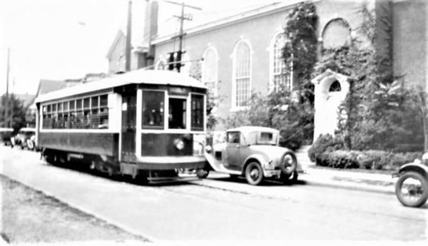 NY&Queens Cars @164th St & Union Tpk 1937 [13)