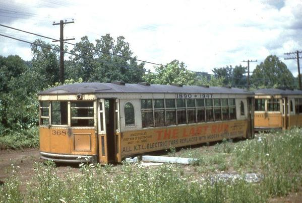 Abandoned Knoxville Trolley Cars
