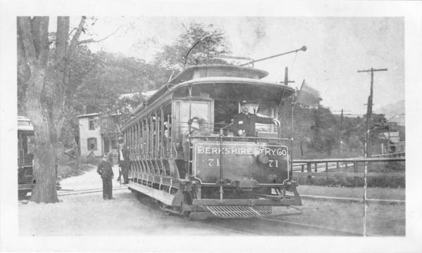 Berkshire Street Railway Trolley #71