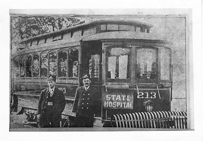 Binghamton Railway Trolley #213