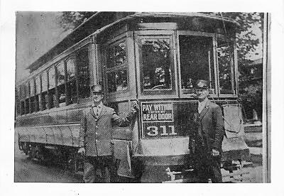 Binghamton Railway Trolley #311