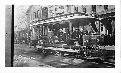 Burlington Traction Company Trolley #24