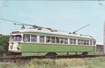 Illinois Terminal Railroad Trolley #450