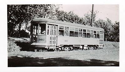 Illinois-Iowa Power Company Trolley 360