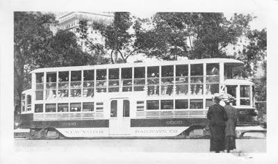New York Railways Trolley #6000