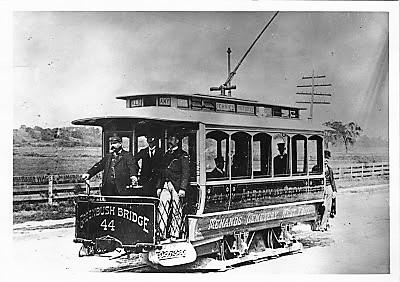 Watervliet Turnpike and Railway #44, 1st Troy -Albany Car