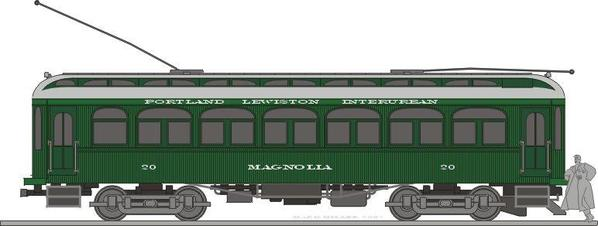 Portland_Lewiston_Interurban_car_20_