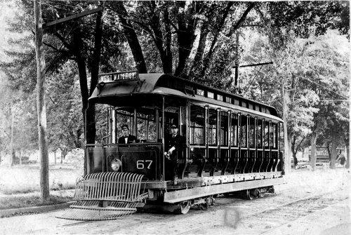 West Water Street Trolley Co., which became the Elmira Water & Railway Co