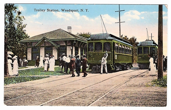 Trolley Station, Weedsport, NY