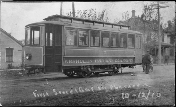 1st Trolley In Aberdeen