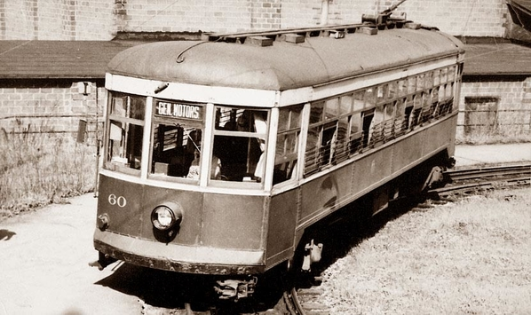 Car 60 served Rochester to end Subway passenger service on June 30, 1956