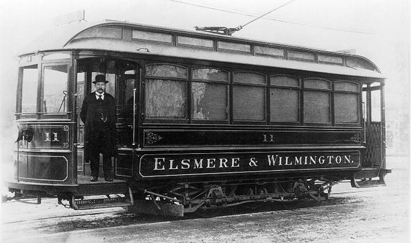 Elsemere & Wilmington # 11 [Jackson & Sharp Builder's photo, late 1800s)