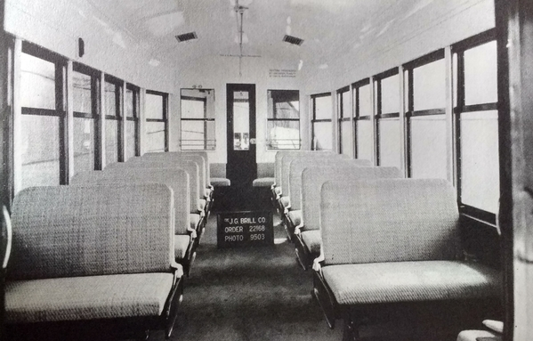 Brill Trolley 46-50II series interior