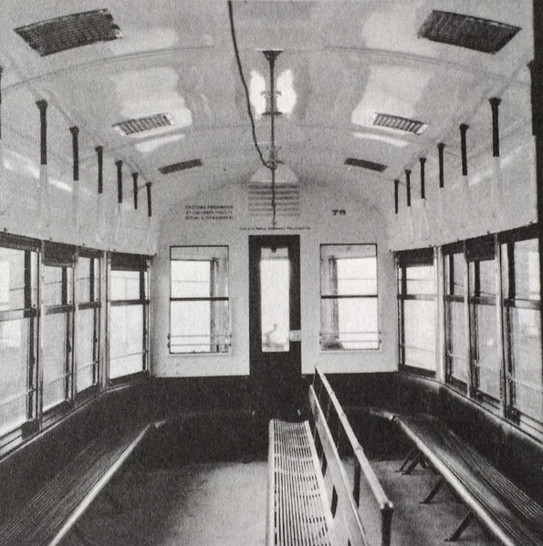 Brill Trolley 62-80 series interior