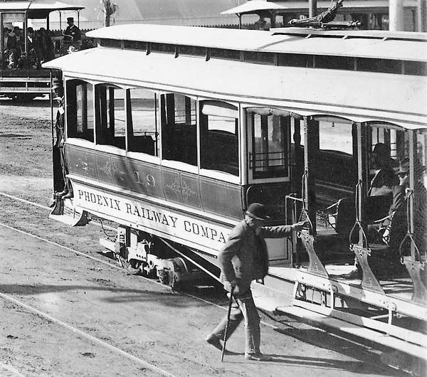 Washington_1st_St_Street_Car_trolley_1905