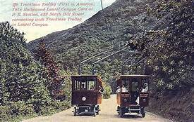 Trackless Trolley Cars
