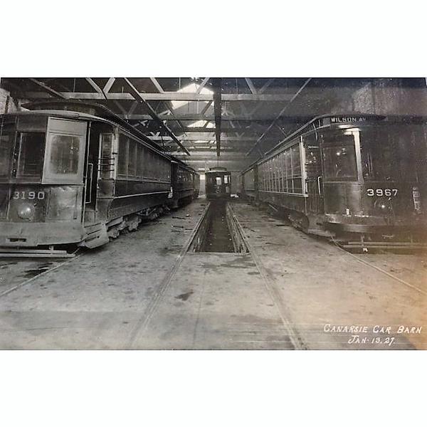 vintage-original-1927-brooklyn-trolley-cars-photograph-8850