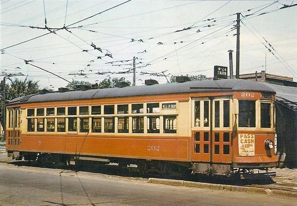 Des Moines City Railway Car 202