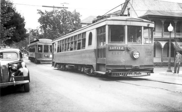 Lancaster-Lititz Electric Line Car 66