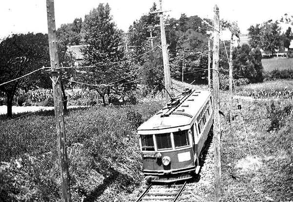 Lancaster-Lititz Electric Line to Kissel Hilll, Pa