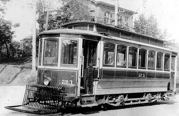 Erie Railways Car 21