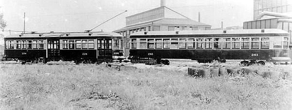 Erie Railways Cars @ Kuhlman Plant, Ohio