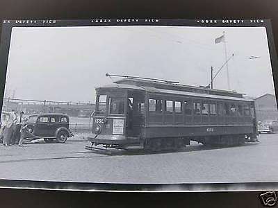 Trolley Car in Brooklyn