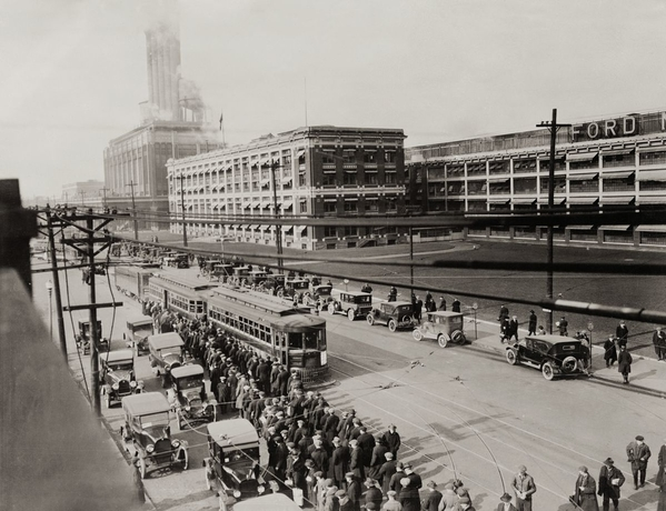Trolley Cars @ Ford Motor Company