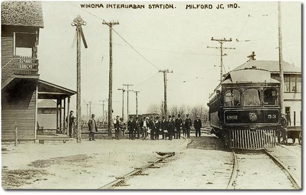 Winona Interurban Station, Indiana
