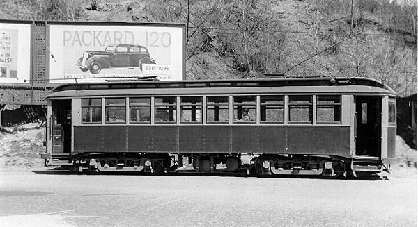 Holyoke Street Railway Car