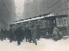 New York Car in Snow