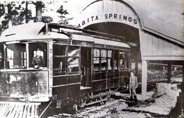 Motor_Trolley_at_Abita_Springs_Shed_1912 Louisiana