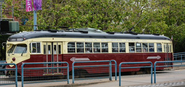 Cavalcade of PCC Streetcars in SF #1