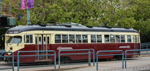 Cavalcade of PCC Streetcars in SF #1