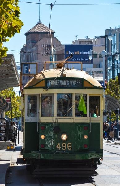 1928 Melbourne, Australia Trolley #496