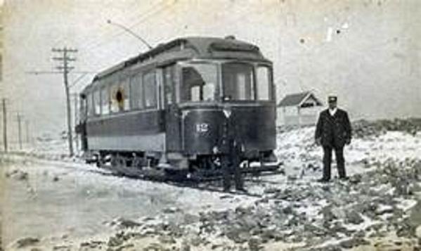 Exeter, Hampton & Amesbury Street Railway Co Car 6 [12)