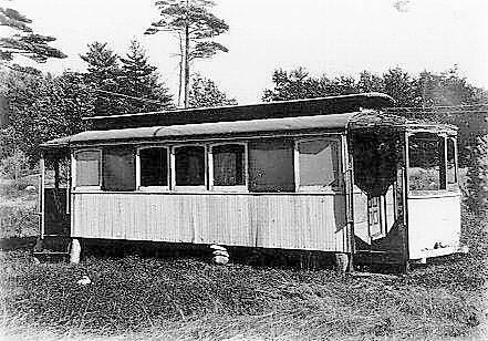 Exeter, Hampton & Amesbury Street Railway Co Car 6 [2)