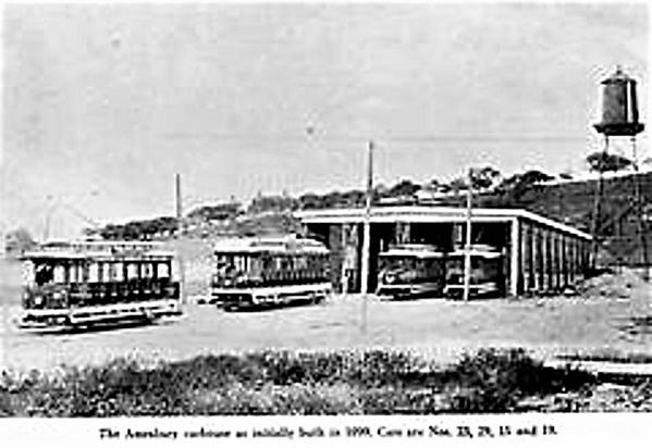 Exeter, Hampton & Amesbury Street Railway Co Barn