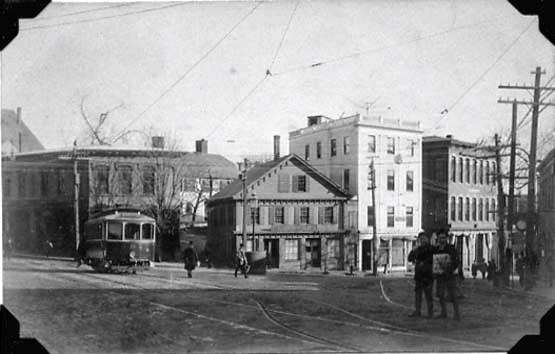 NO. 8 AT MARKET SQUARE, AMESBURY became the kitchen of the Hampton Diner