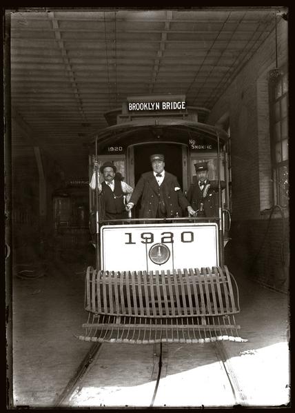 Brroklyn Bridge Car, NY