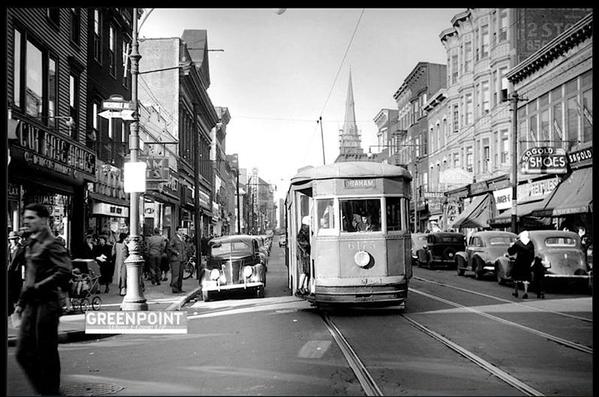 Manhattan Ave Trolley a