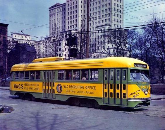 WAC Recruiting Trolley