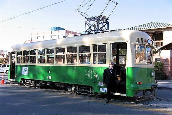 old-pueblo-trolley-car, Tuson