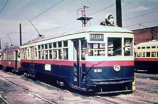 Birmingham Electric 551