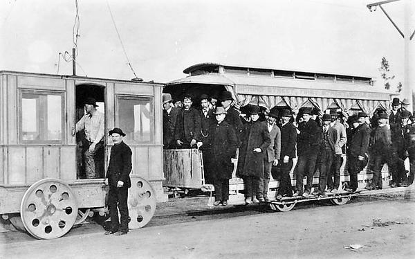 LA-1st-electric-car