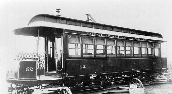 Coeur D'Alene & Spokane Railroad 2