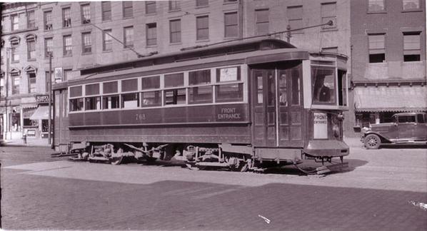 Brooklyn Rapid Transit Co. #458 on 5th Ave. at 59th Street, Brooklyn 1910