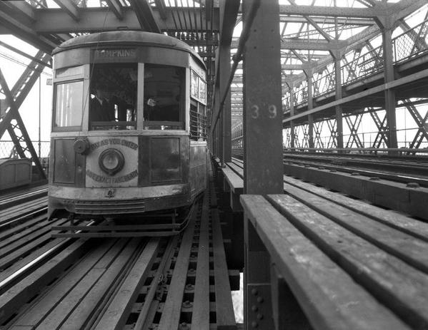 Manhattan Bridge 3 Cent Line [2)